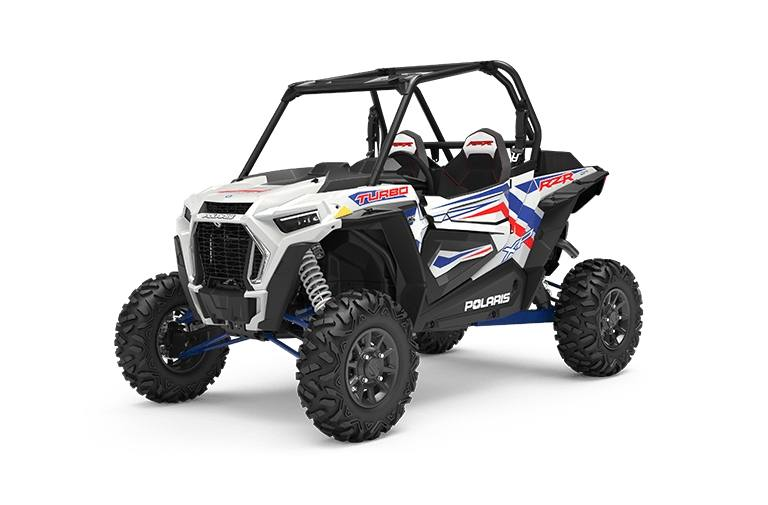 RZR XP® Turbo LE - White Lightning