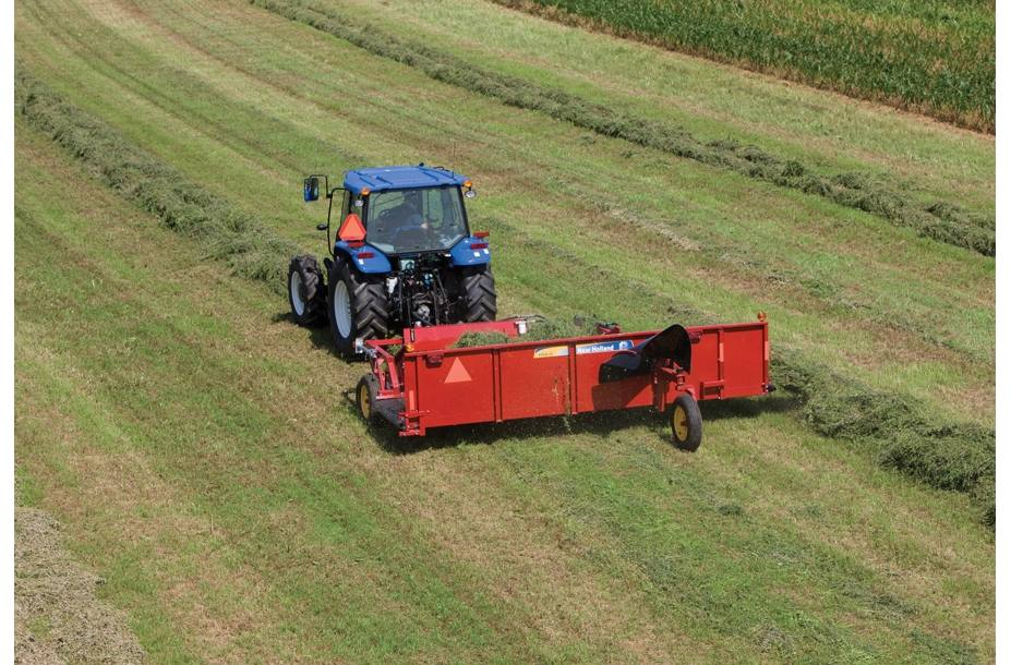 2018 New Holland Agriculture Windrow Merger H5430 for sale