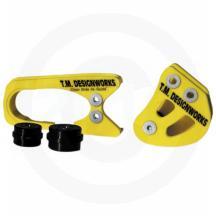 TM Designworks Rear Chain Guide//Mount Suzuki LTZ400 Yellow 03 04 05 06