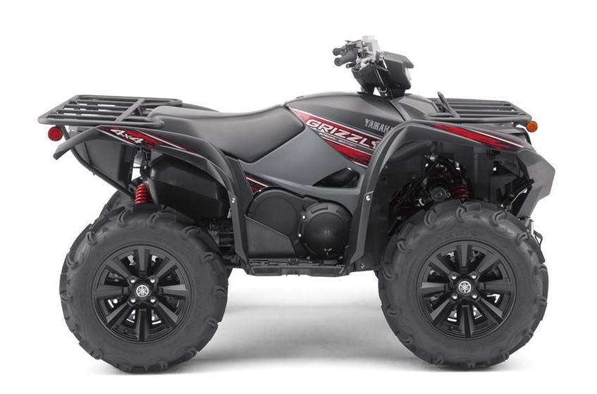2019 Yamaha Grizzly EPS SE - Tactical Black w /Winch