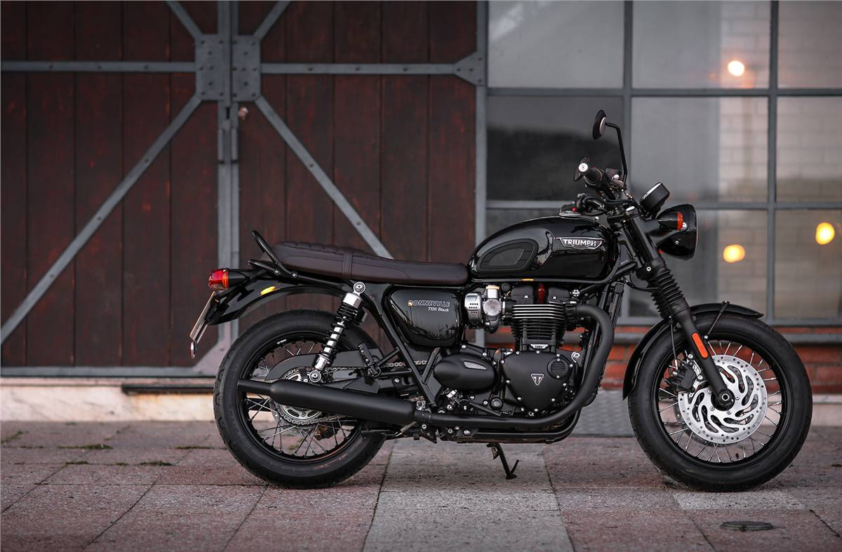 2019 Triumph Bonneville T120 Black For Sale In Norwich Ct Street