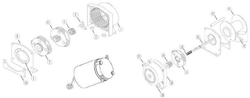 Warn Winch Replacement Parts For Sale In Calgary Ab