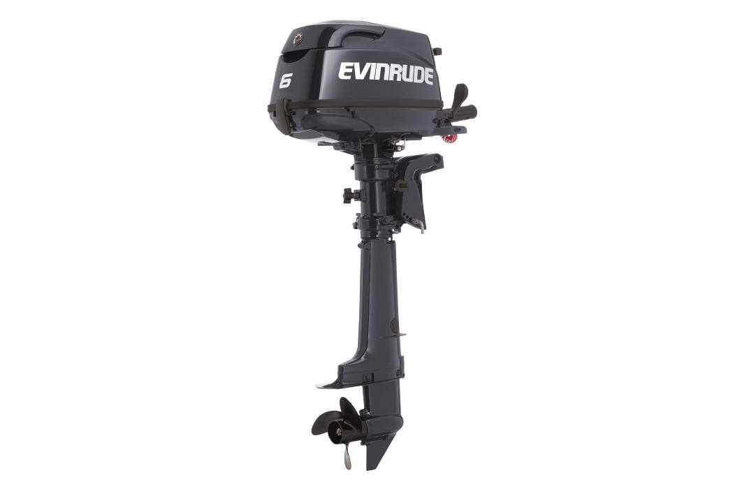 2019 Evinrude 6 HP - E6RG4 Graphite
