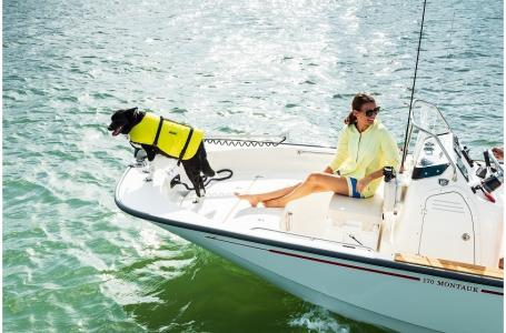 2019 Boston Whaler boat for sale, model of the boat is 170 Montauk & Image # 5 of 7