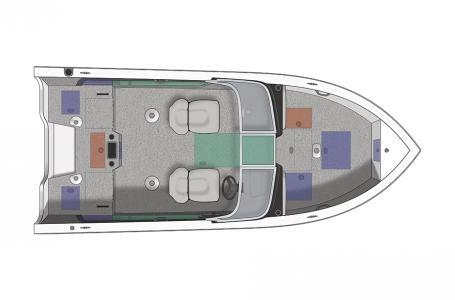 2019 Crestliner boat for sale, model of the boat is 1750 Super Hawk & Image # 8 of 8