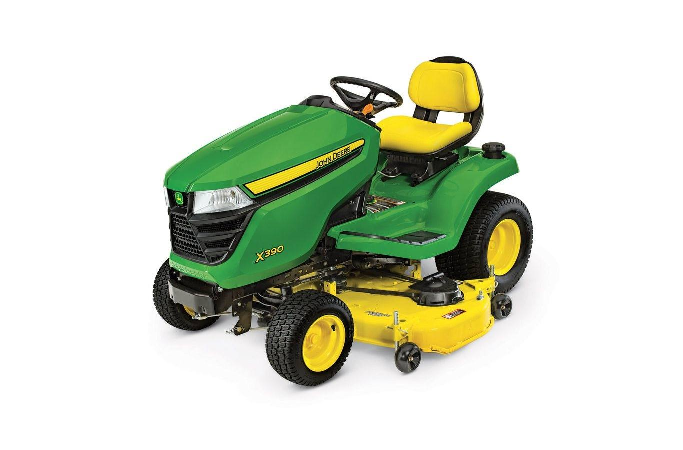 2019 John Deere X390, 48-in  deck