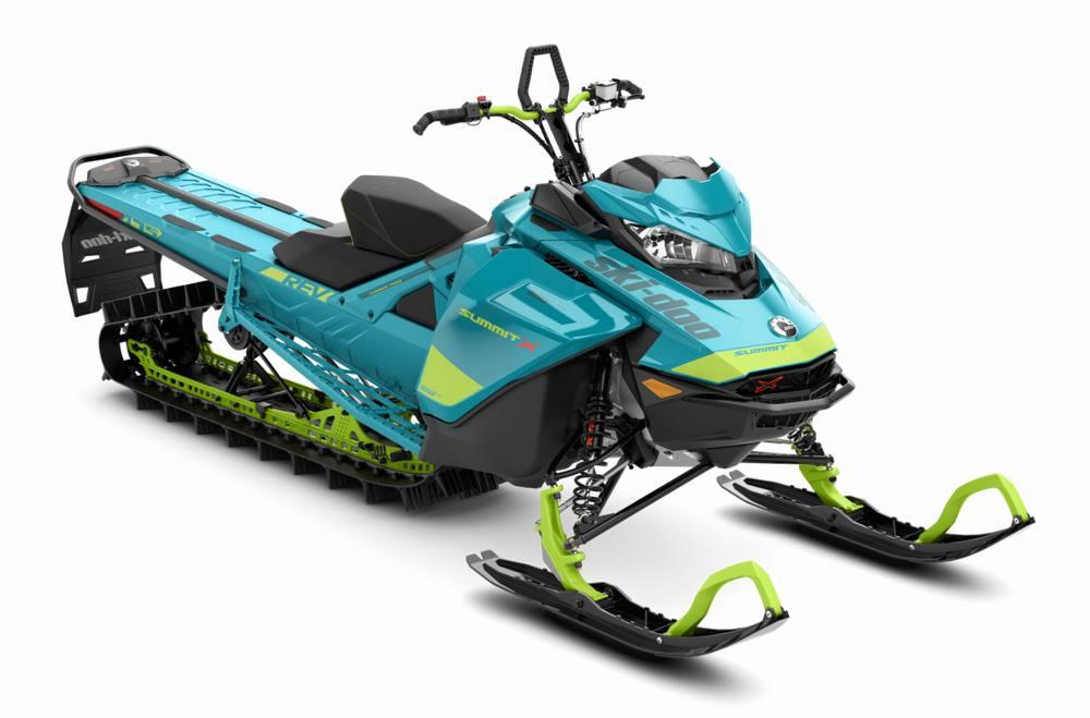 2020 Ski-Doo Summit® X® 850 E-TEC® ES 175 - Iceberg Blue