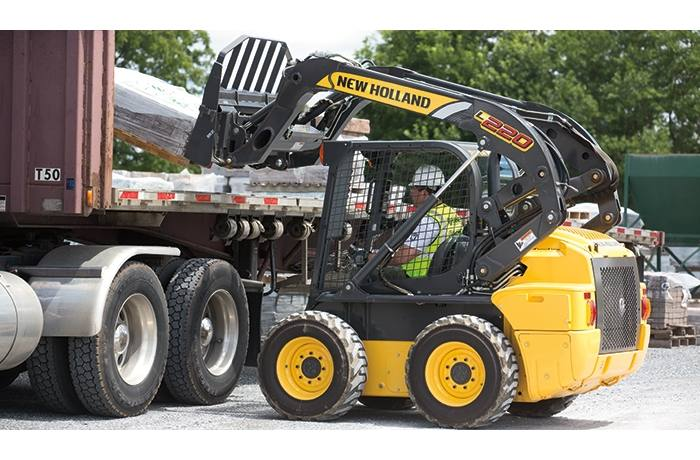 2019 New Holland Construction L220 Skid Steer for sale in