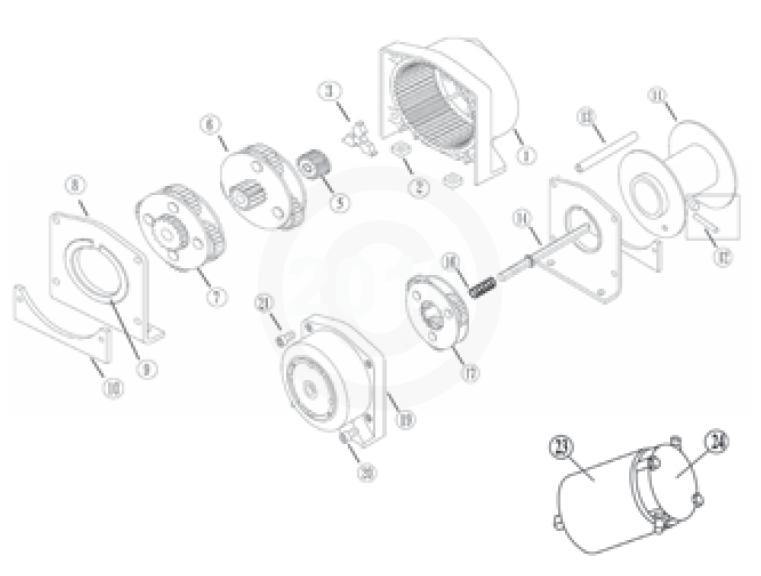 warn locking hub parts diagram