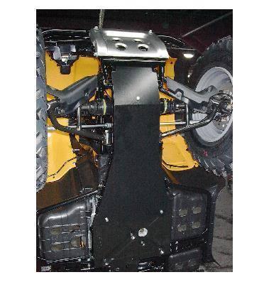 KAWASAKI KFX 400 /& SUZUKI LTZ 400 2003-2014 15-9243 Full Chassis Skid Plate
