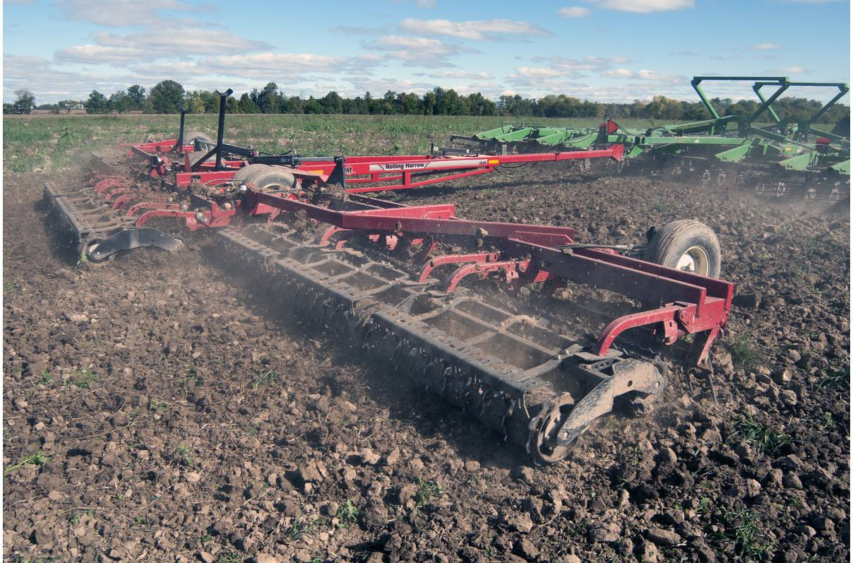 Rolling Harrow® Soil Conditioner 1245D