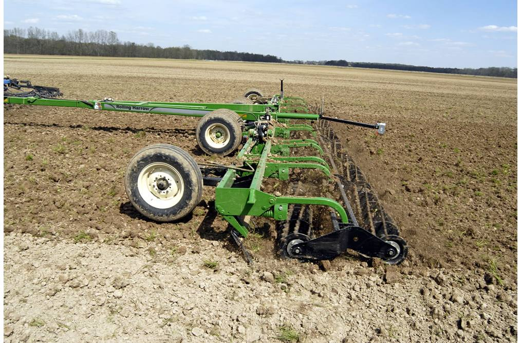 Rolling Harrow® Soil Conditioner 1225
