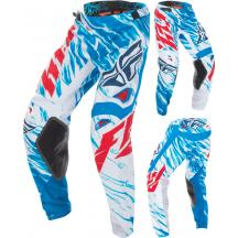 FLY RACING KINETIC RELAPSE PANT TEAL//RED SZ 38 370-43938