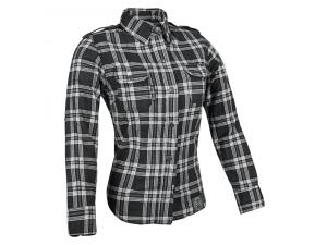 Smokin Aces Reinforced Moto Womens Shirt