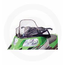 PowerMadd Windshield 13.25in Black with Cobra logo 13223