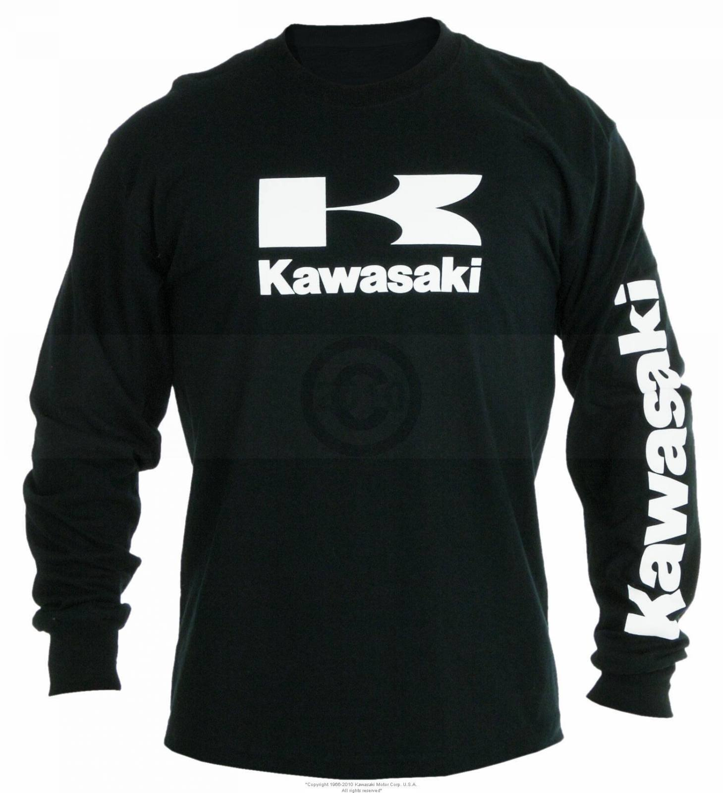 Stacked Logo Long Sleeve T Shirt