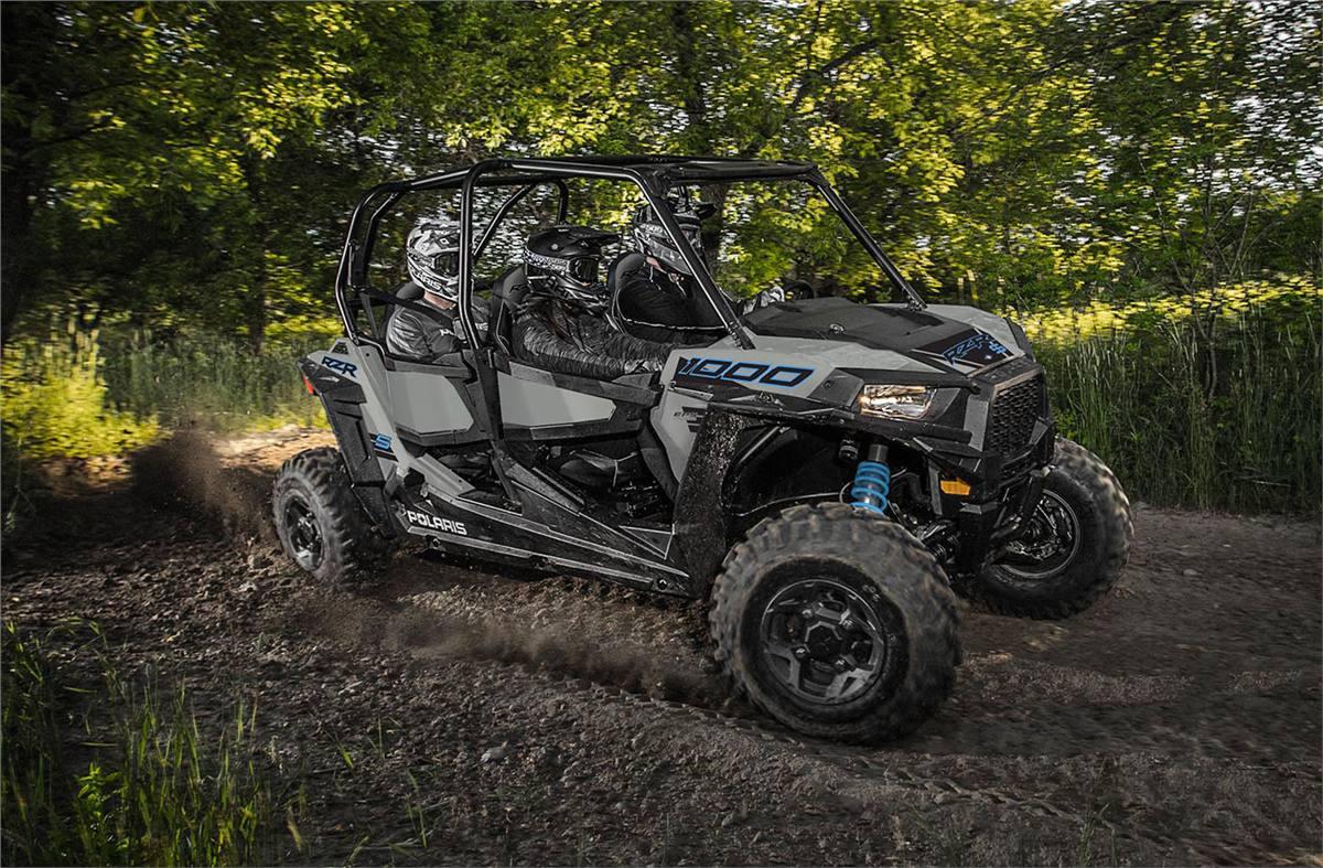 2020 Polaris Industries RZR® S4 1000 Turbo Silver