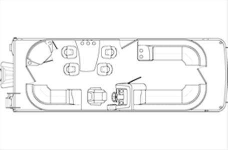 2020 Bennington boat for sale, model of the boat is 25 SPDX & Image # 15 of 15