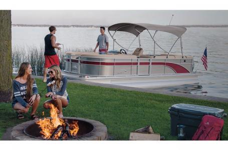 2020 Bennington boat for sale, model of the boat is 25 SPDX & Image # 12 of 15