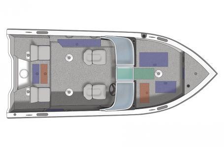 2020 Crestliner boat for sale, model of the boat is 1850 Fish Hawk Walk-through JS & Image # 16 of 28