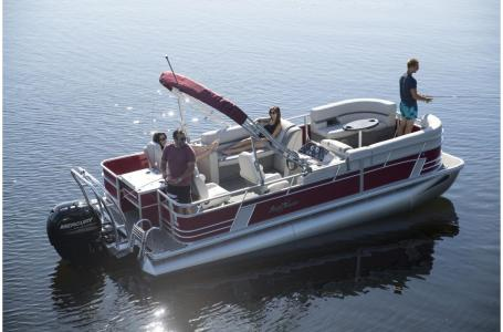 2020 SunChaser boat for sale, model of the boat is Geneva Fish 22 Fish DLX & Image # 6 of 15