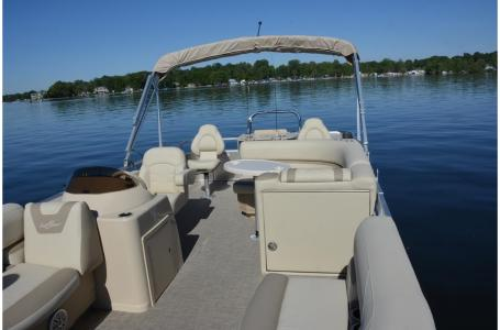 2020 SunChaser boat for sale, model of the boat is Geneva Fish 22 Fish DLX & Image # 10 of 19