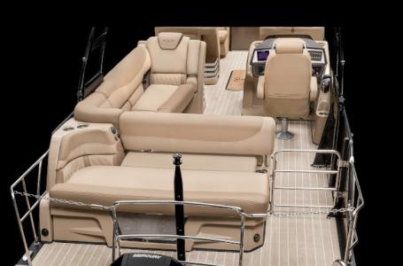 2020 Harris boat for sale, model of the boat is Grand Mariner 250 & Image # 6 of 13