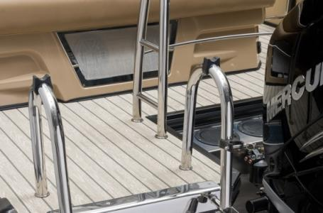 2020 Harris boat for sale, model of the boat is Grand Mariner 270 & Image # 9 of 12