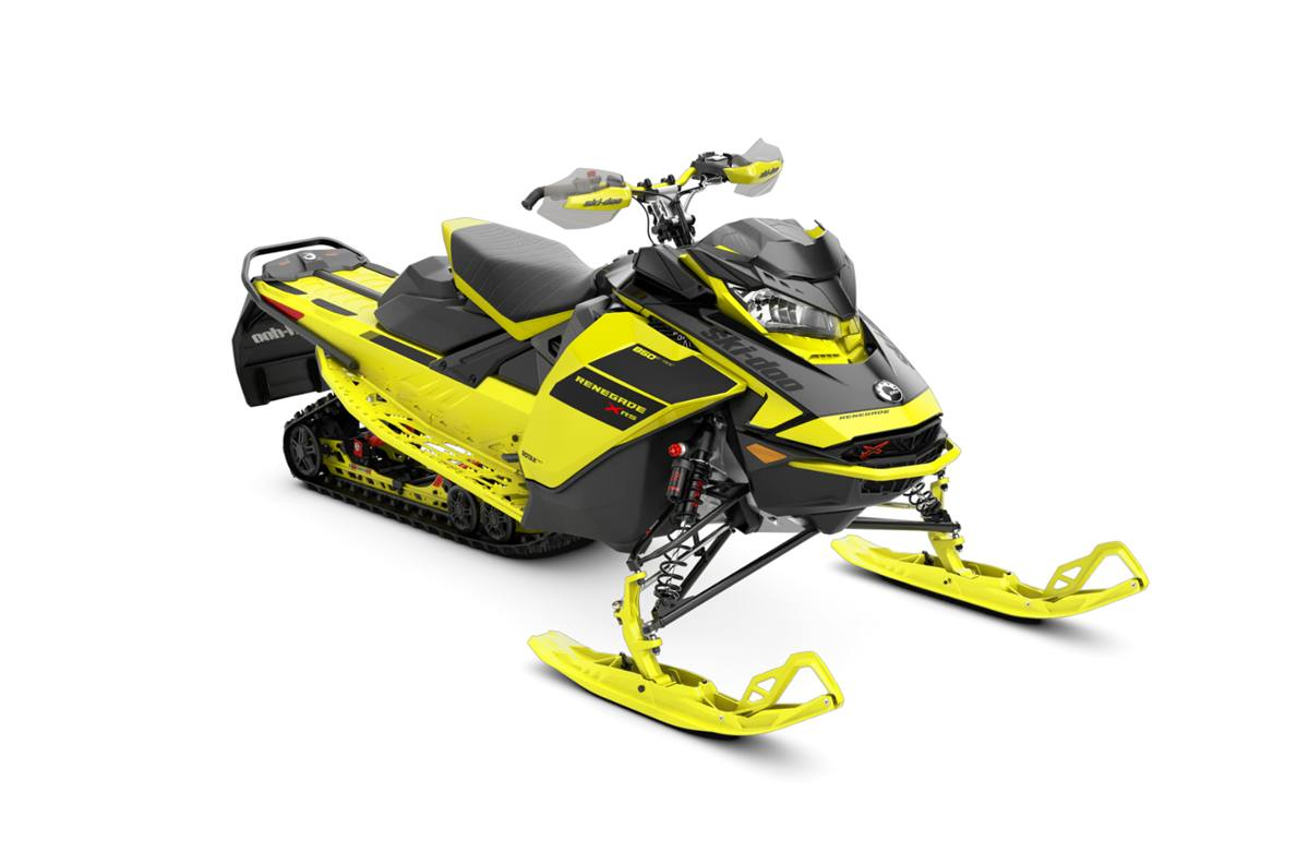 2021 Ski-Doo Renegade® X-RS® 850 E-TEC® - Yellow/Black for sale in MacTier,  ON. The Cove
