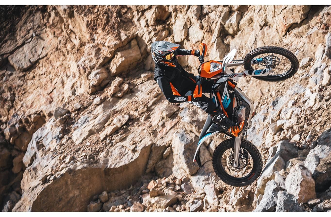 Electric KTM - Freeride E-XC - Dirtbike Evolution