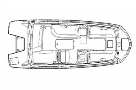 2021 Hurricane boat for sale, model of the boat is SunDeck Sport 205 OB & Image # 9 of 9
