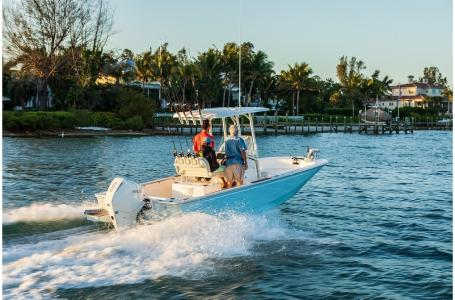 2021 Boston Whaler boat for sale, model of the boat is 210 Montauk & Image # 3 of 7
