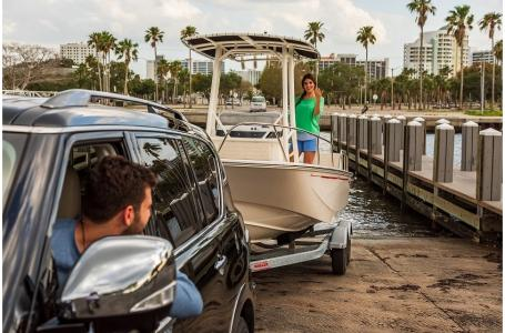 2021 Boston Whaler boat for sale, model of the boat is 190 Montauk & Image # 7 of 7