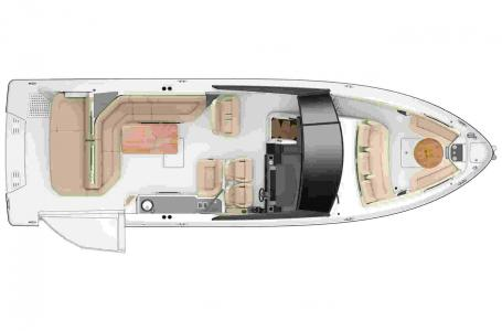 2021 Sea Ray boat for sale, model of the boat is SLX 400 & Image # 3 of 7