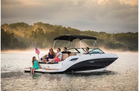 2021 Sea Ray boat for sale, model of the boat is SDX 250 & Image # 1 of 6
