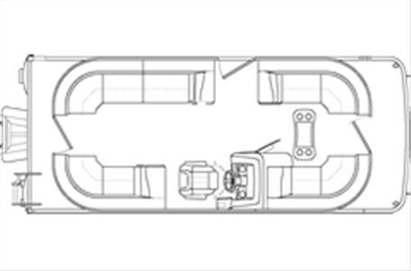 2021 Bennington boat for sale, model of the boat is 22 SSRCX & Image # 12 of 22