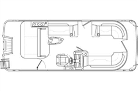 2021 Bennington boat for sale, model of the boat is 23 LSB & Image # 13 of 13