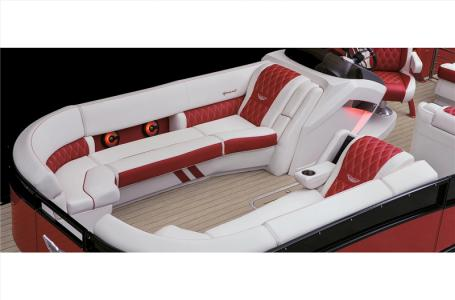 2021 Bennington boat for sale, model of the boat is 25 RXFBA DLX Fold Open SP Arch (Gas Assist) & Image # 19 of 25