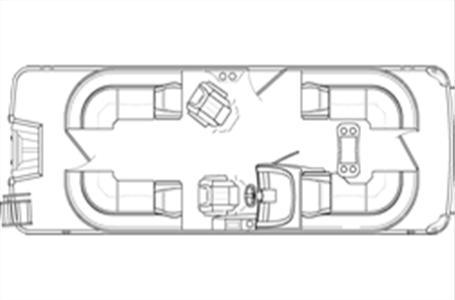 2021 Bennington boat for sale, model of the boat is 23 LXSR & Image # 15 of 15