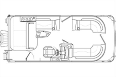 2021 Bennington boat for sale, model of the boat is 21 LSB & Image # 14 of 14