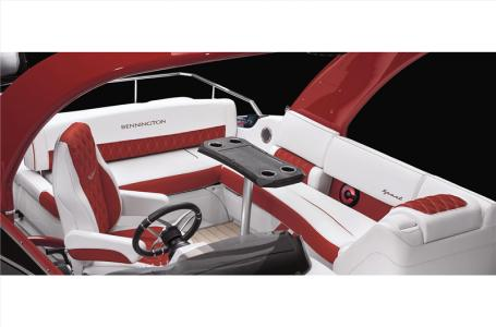 2021 Bennington boat for sale, model of the boat is 25 RXFBA DLX Fold Open SP Arch (Gas Assist) & Image # 20 of 26