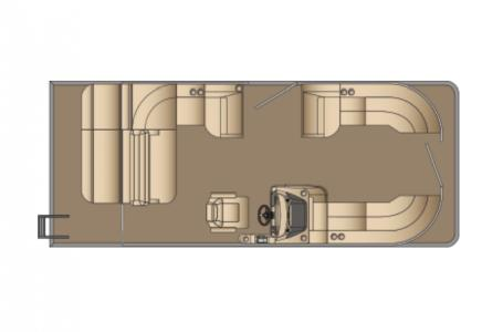 2021 Harris boat for sale, model of the boat is Cruiser 230 & Image # 6 of 13