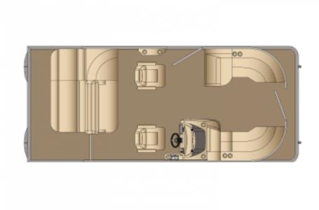 2021 Harris boat for sale, model of the boat is Sunliner 210 & Image # 7 of 12