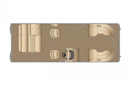 2021 Harris boat for sale, model of the boat is Cruiser 250 & Image # 3 of 13