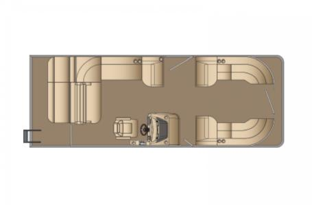 2021 Harris boat for sale, model of the boat is Cruiser 250 & Image # 8 of 13