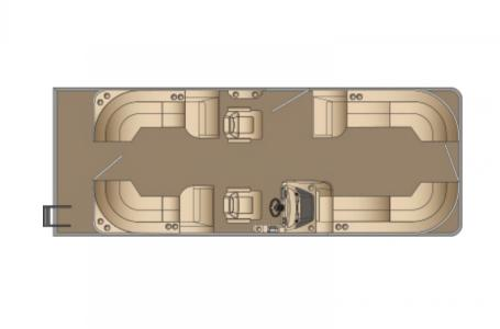 2021 Harris boat for sale, model of the boat is Sunliner 250 & Image # 16 of 17