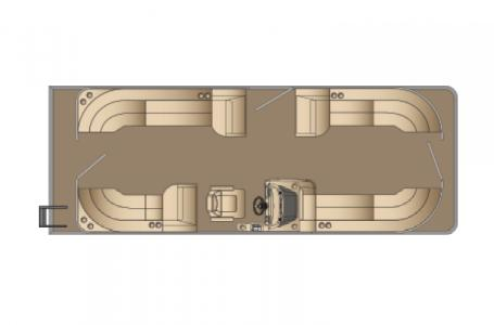 2021 Harris boat for sale, model of the boat is Cruiser 250 & Image # 12 of 15