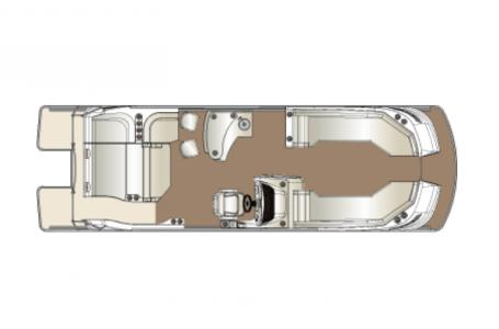 2021 Harris boat for sale, model of the boat is Harris Crowne SL 270 & Image # 12 of 14