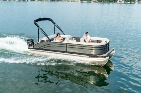 2021 Harris boat for sale, model of the boat is Cruiser 210 & Image # 2 of 12