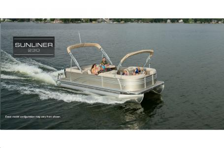 2021 Harris boat for sale, model of the boat is Sunliner 230 & Image # 2 of 13